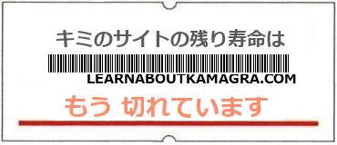 画像:サイト賞味期限(http://learnaboutkamagra.com/)