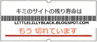 画像:サイト賞味期限(http://littlelillyblack.blogspot.com)