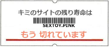 画像:サイト賞味期限(http://sextoy.pink)