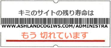 画像:サイト賞味期限(http://www.ashlandcogiws.com/administrator/index.php)