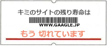 画像:サイト賞味期限(http://www.gaagle.jp)