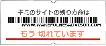 画像:サイト賞味期限(http://www.wakefulnesadvisor.com/)