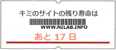 画像:サイト賞味期限(http://www.nilab.info/)