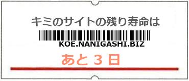 画像:サイト賞味期限(http://koe.nanigashi.biz/)